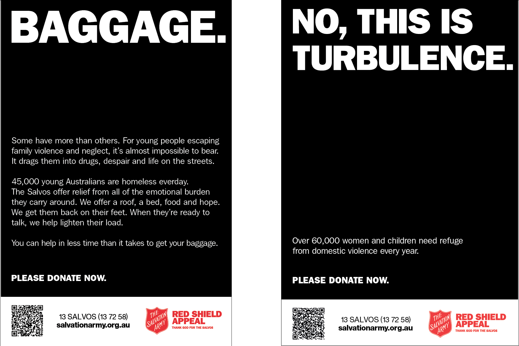 Salvation Army, Airport Campaign