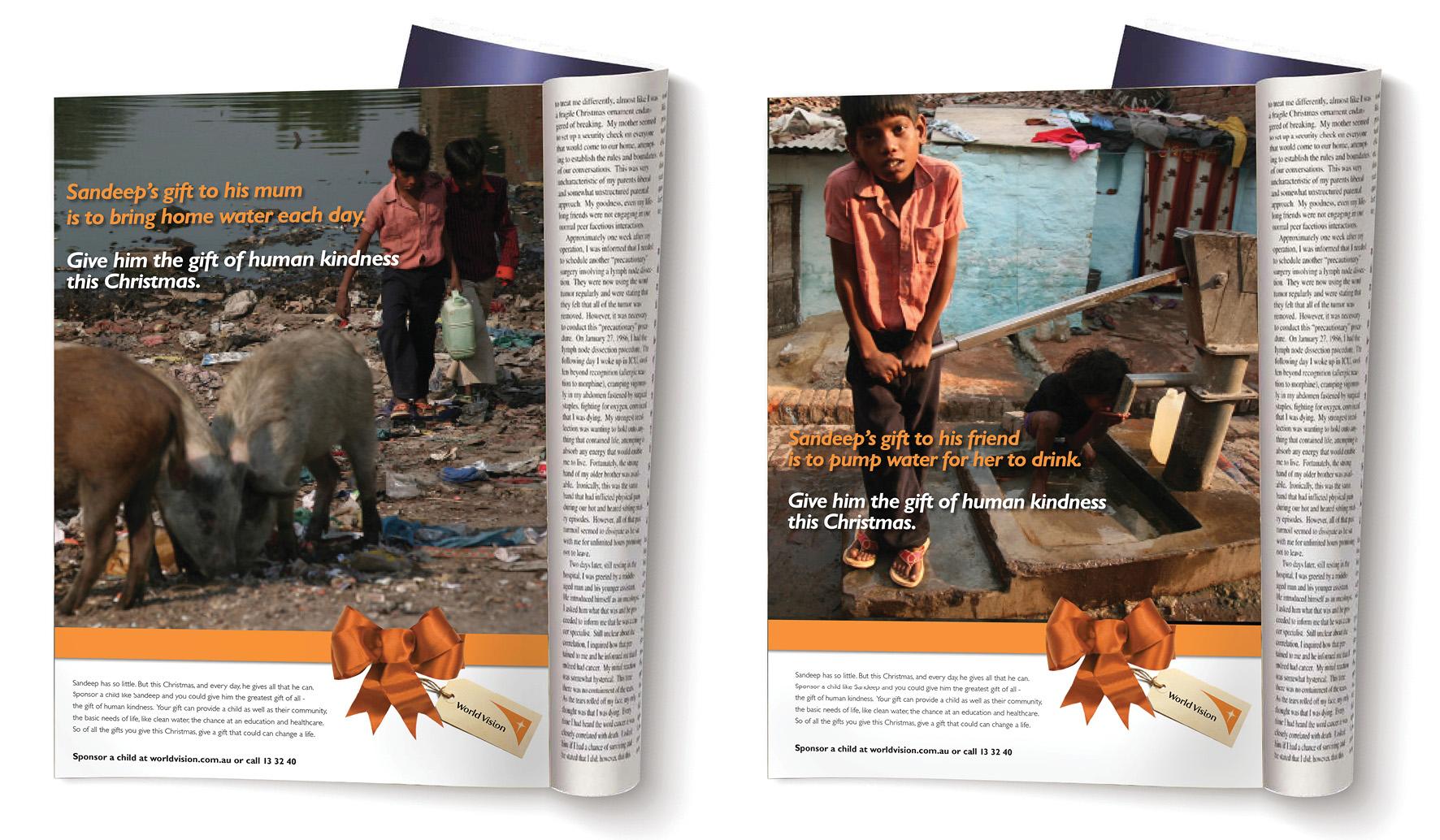 World Vision: Child Sponcership